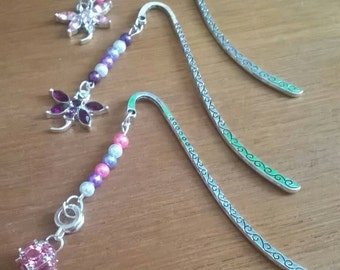 Sparkle Dangle  Book Marks