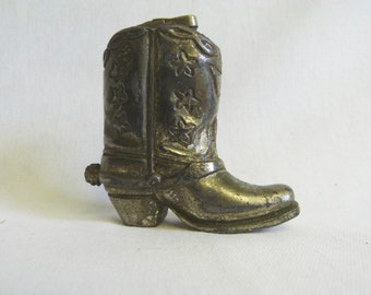 Cowboy Boot Lighter Western Decor  Cigarette memorabilia