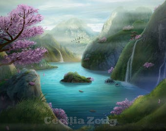 Land of Paradise by Cecilia Zeng