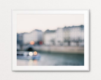 River Seine Photo, Paris Decor, Paris Wall Art, Paris Print, Paris Photograph, Paris Bedroom Decor, Home Decor