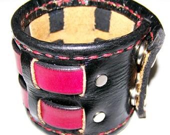 Item 102712 Shane Leather Wrist Cuff