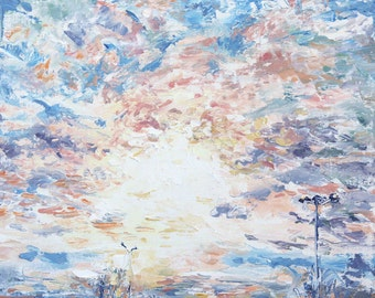 New England Landscape No.40, limited edition of 50 fine art giclee prints on canvas