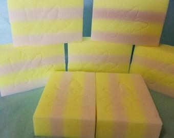 Lemonade Sudsy Soap  6 count