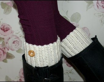 Ribbed Boot Cuffs,Boot Toppers