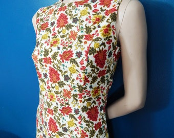 1960's Garden Party Shift Dress | Feminine | Classic