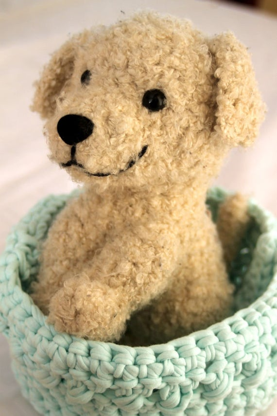 Crochet Dog Pattern, Puppy Amigurumi Crochet Pattern, Plush Bear ...