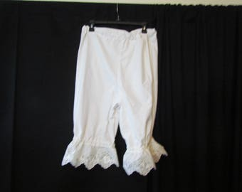 Bloomers (small-med), pantalettes, drawers, stage costume, cosplay, knickers. historical, wagon train, trek, pioneer, plus size, B15