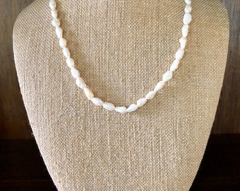 Vintage Fresh Water Pearl Necklace - Pearl Necklace - Bridal Necklace - Art nouveau - Mother's Day - Mom - Gift Idea
