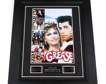 Grease Film Cell Movie Memorabilia Gift Framed Or Unframed Original Vintage Film Cells