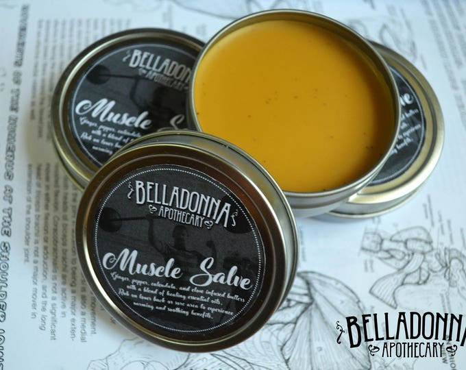 Organic Warming Muscle Salve by Belladonna Apothecary