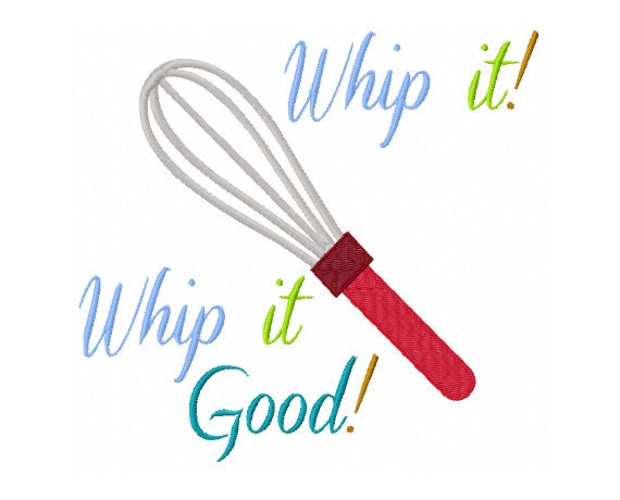 kitchen embroidery designs. Whip It Good  Embroidery Design Baking Cooking Kitchen Towel Mom Gift