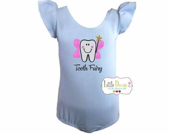 Tooth Fairy (Child's) Flutter Sleeve Leotard