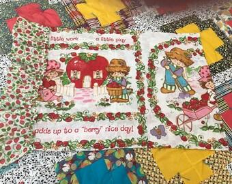 Adorable vintage Strawberry Shortcake Pillowcase