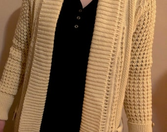 Vintage 1970's Sweater Handmade in Ireland