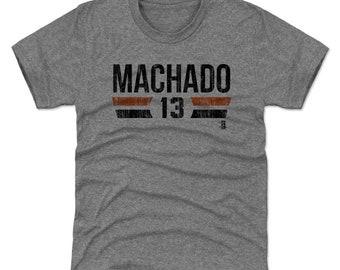 Manny Machado Youth Shirt | Baltimore Baseball | Kids T Shirt | Manny Machado Font K