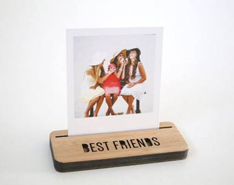 Photo Stands - Mini - Best Friends - Display your Instagram photos, picture holder, photo frame