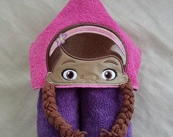Kids Hooded Bath Towel,Hooded Towel,Personalized Kids Hooded Towel,Embroidered Kids Bath Towel,Hooded Kids Towel,Kids Gift,Gift forGirls