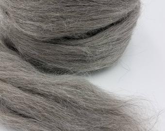 1 pound Gotland combed top, roving, spinning fiber, felting fiber, fiber