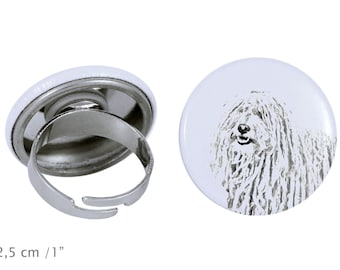 Ring with a dog- Puli