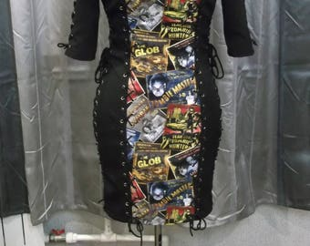 Zombie cotton dress