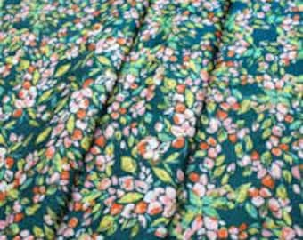Sage: Bougainvillea Evergreen Art Gallery Fabric K-14452