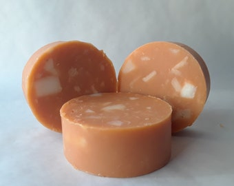 Chunk Soap 4+oz, Unscented Soap, Natural Soap, Handcrafted Soap,