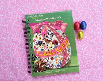The Golden Egg Book, Recycled Little Golden Book Journal