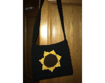 Crocheted Crossbody Purse