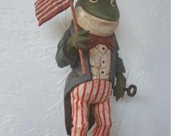 Star Spangled Frog