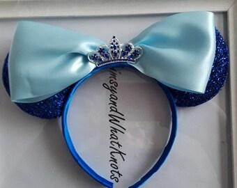 Cinderella Minnie Mouse Ears-3