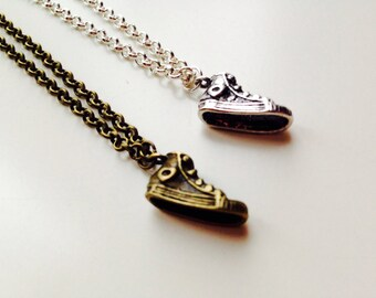 Trainer | Sneaker | Converse Style | Vans | Cute | Retro | Necklace