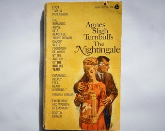 The Nightingale by Agnes Sligh Turnbull Vintage 1966 Edition Paperback Novel