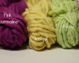 Thick and Thin Slub Merino Yarn TTS(tm) 33 Mini Skein