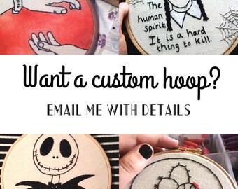 Custom Hoop