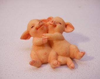Pig Buddies Figurine Pigs