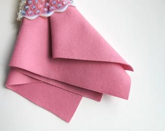 Wool Felt Fabric, Lavender Pink, Pure Merino Felt, Choose Size, Felt Square, Felt Sheet, Craft Felt, Felt Flowers, 100% Wool, Pink Felt