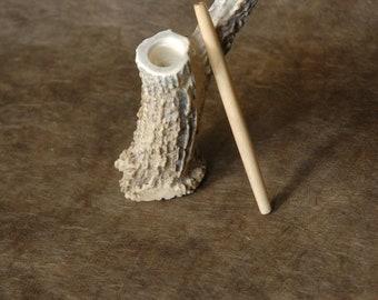 Tall Antler Pipe - smoking pipe