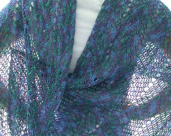 Pattern - Crochet Ripple Shawl, Lace