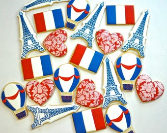 French Themed Cookie Collection