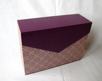 Workbook, papers or mail, lid covers