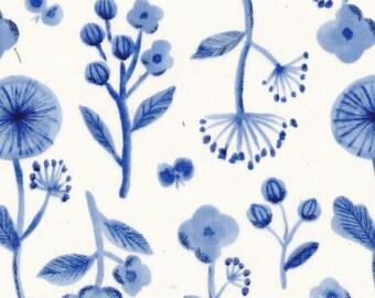 Trefle Cucito Flower & Bird Gauze from Kokka