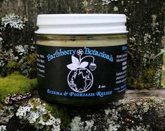 Eczema, Psoriasis and multi-purpose anti-fungal/rash cream 2 oz cream jar