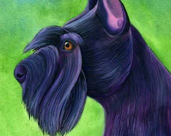 12x16 Custom Pet Portrait Watercolor Art Custom Dog Portrait Pet Memorial Art Custom Pet Painting Watercolor Painting Personalized Pet Art