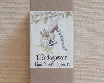 Madagascar Rainforest Incense (all natural resin incense)