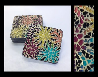 Radiance - Glass Mosaic Coasters