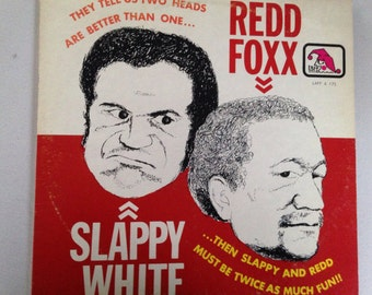 Redd Foxx and Slappy White - Redd and White - vinyl record