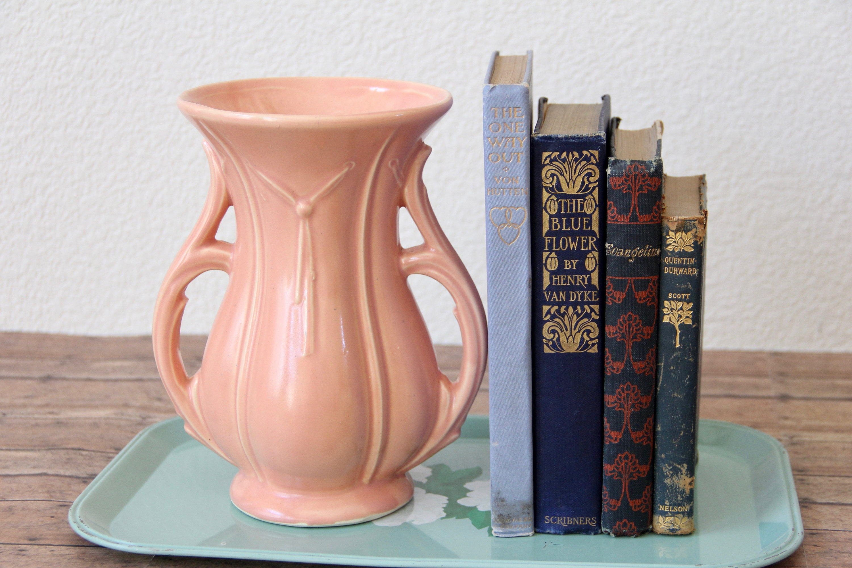 Mccoy pottery mccoy vase mccoy ribbon vase peach mccoy zoom reviewsmspy