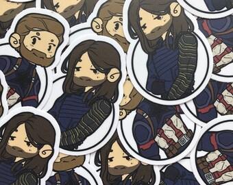 Infinity War Stucky Sticker Pack