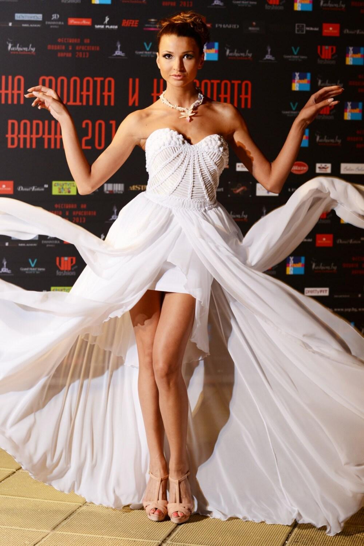 Land rustikale Hochzeitskleid Chiffon Brautkleid einfache