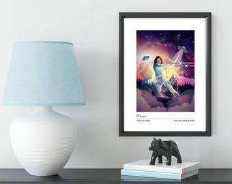Muse Knights of Cydonia Inspired artwork